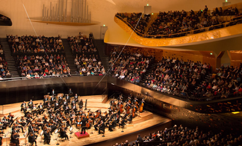 Grande Salle Boulez - Philharmonie de Paris