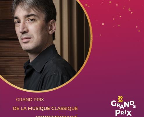 Grand Prix Sacem 2020 - Olivier Calmel